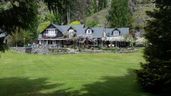 Trelawn Place: Le jardin principal