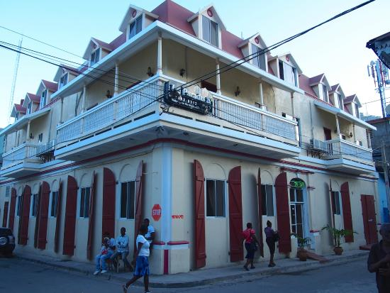 Outside Of The Le Paradis S Hotel In Cap Haitian Haiti