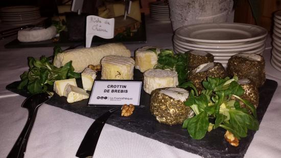 Hotel Chalet Royal : Friday night dinner buffet