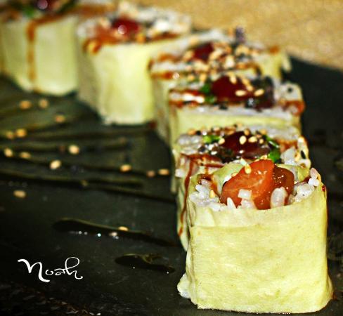 Gastroteca Vinoteca Noah: Futomaki  con alga de soja