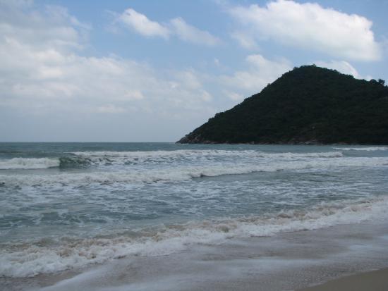 Thong Nai Pan Yai Beach: Windy beach