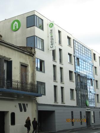 Campanile Bordeaux Centre -Gare Saint-Jean : exterior of Campanile Hotel