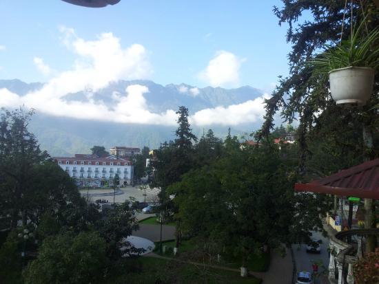 Kenpas Hotel: Вид из окна
