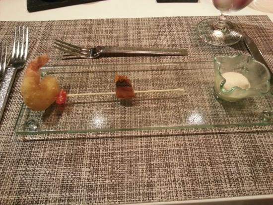 Mandarin Grill : Gruss aus der Küche