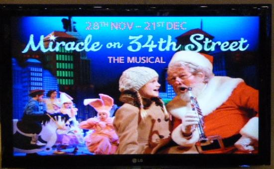 Pitlochry Festival Theatre: The Poster for Miracle on 34th Street