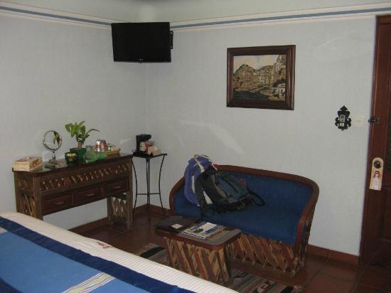 Hotel Boutique Parador San Miguel Oaxaca: Corner of room