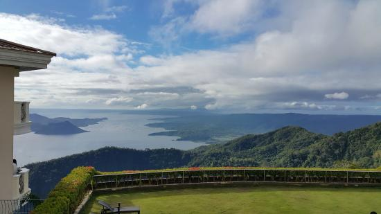The Lake Hotel Tagaytay: View from Deluxe room