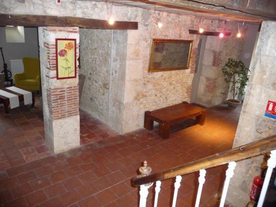 Le Saint Vincent Hôtel Restaurant : couloir