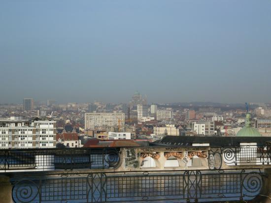 Place Poelaert. Панорамный вид
