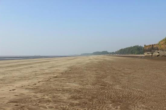 Kashid, India: clean beach