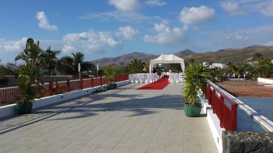 They do weddings here too picture of hotel costa calero puerto calero tripadvisor - Hotel costa calero puerto calero lanzarote espana ...