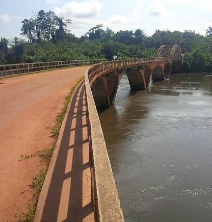 Sassandra, Ivory Coast: Weygand Bridge (Pont Weygand) The First Concrete Bridge in Africa