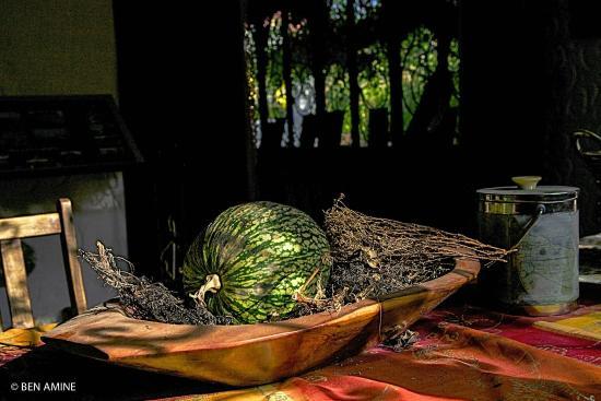 Casa Rural Dar Khizana: En el salon de la casa