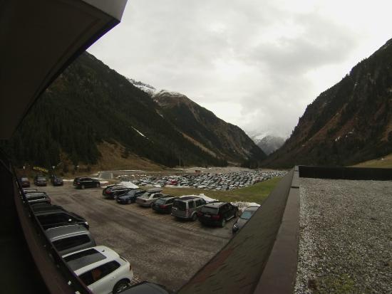 Alpensporthotel Mutterberg : widok z pokoju