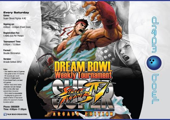 Street Fighter Tournement Picture Of Palm Beach Dream Bowl Palm