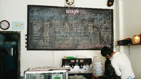 Kinyei Cafe: Best coffee in Cambodia