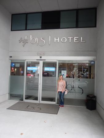 Hotel Bys Palermo: Imagem da fachada do hotem