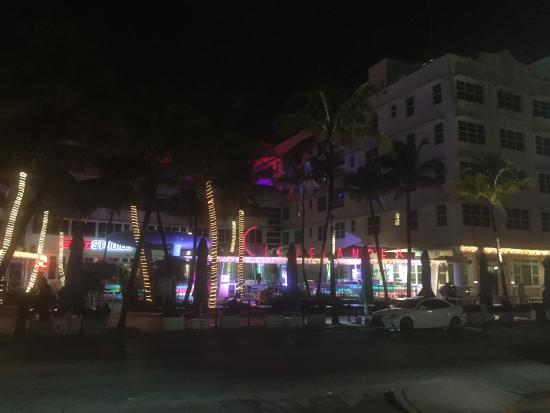 Night Lights On South Beach Picture Of Marriott Vacation
