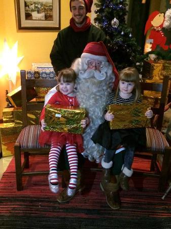 Lapland Hotel Bear's Lodge: Santa