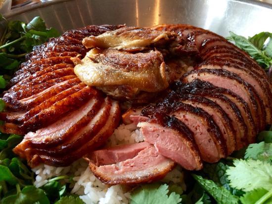 Momofuku Ssam Bar: The duck large format meal at ssam bar