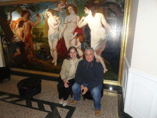 Hotel Le Manoir Bogota: Hotel en el Loby