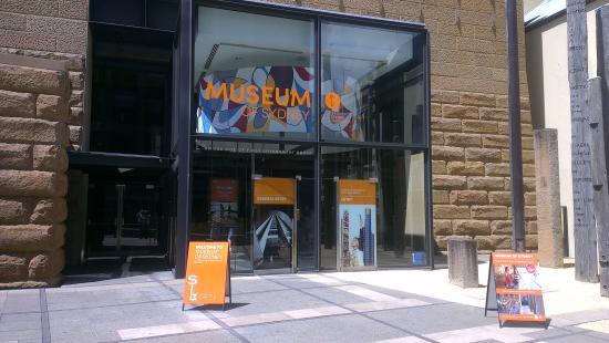 Museum of Sydney: Entrance