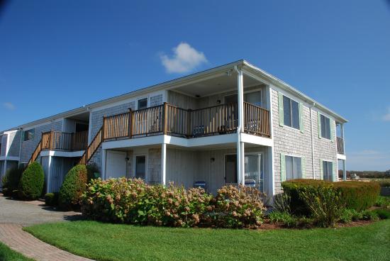 Entrance - Green Harbor Resort: .