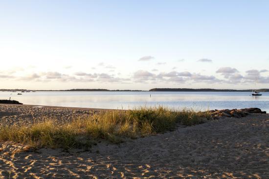 Green Harbor Resort: Private beach