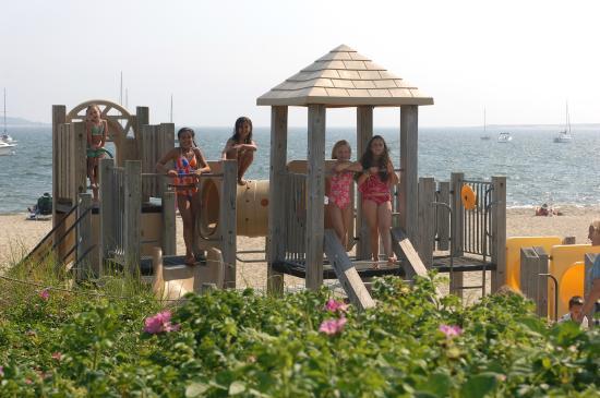 Green Harbor Resort: Beach playground