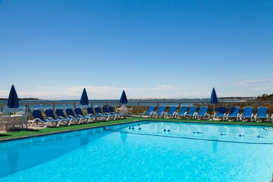 Green Harbor on the Ocean : Oceanfront outdoor pool