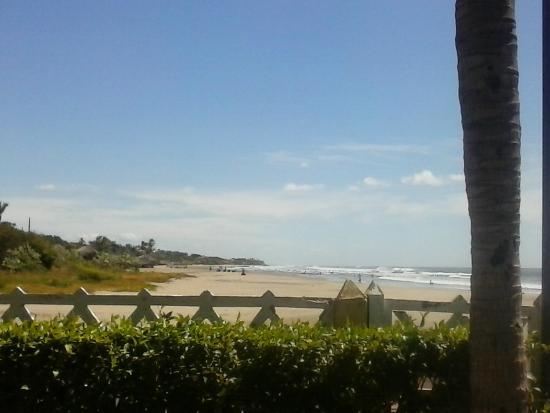 Hotel Vistamar: Vista al mar