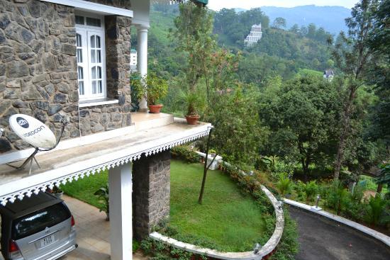 Chithirapuram Palace: Side Balcony view