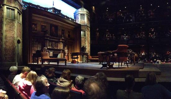 The Royal Shakespeare Theatre: RST before a performance of Love's Labour's Lost.