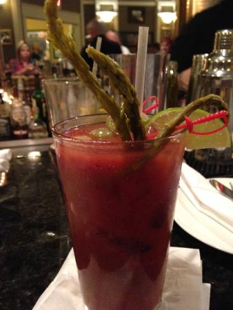 Bogey's Bar & Restaurant: Most AMAZING Bloody Mary EVER!