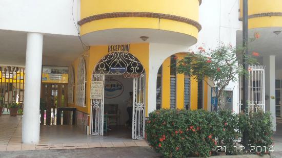 Bungalows Robles: Reception area, area de recepcion