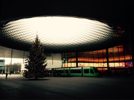Dorint An der Messe Basel: Just a long the road from the hotel