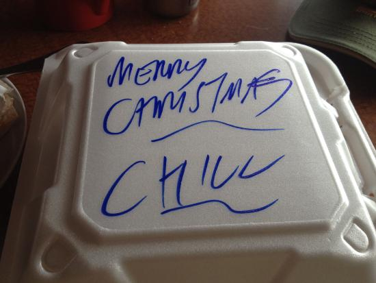 Chill Restaurant & Bar : Merry Christmas - Chill!