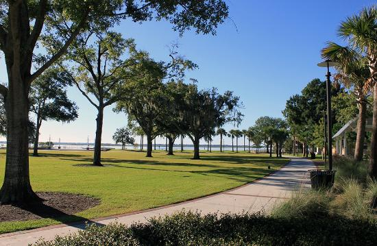 Civic Lawn with Lake Toho in background - Picture of ...