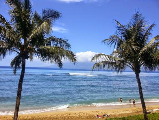 Valley Isle Resort: view from our lanai