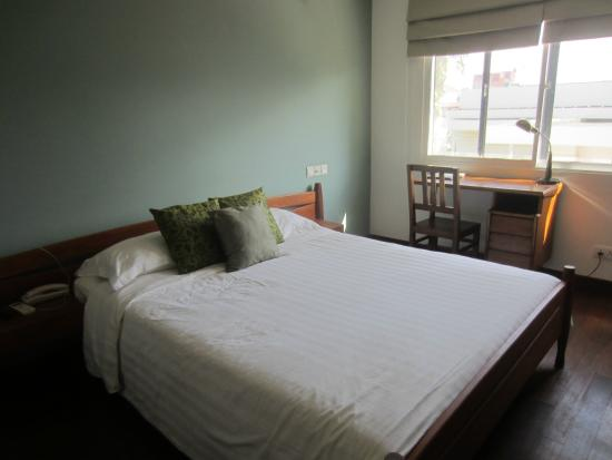 The Sangkum Hotel: Plain, but well appointed room