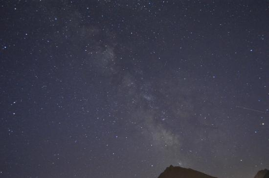 B&B Eth Berye Petit: Perfect location for those who want to see the Milky way, or just counting the stars...