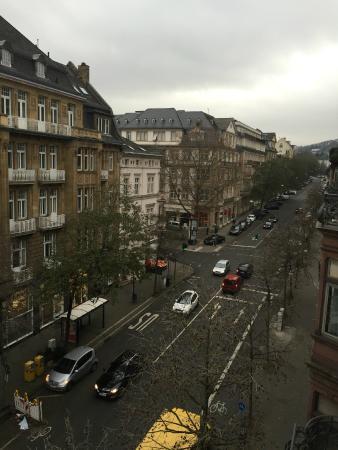 Hotel de France: View