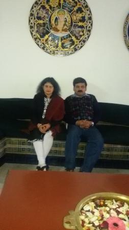 Central Hill Resort Gangtok : At hotel''s lobby area