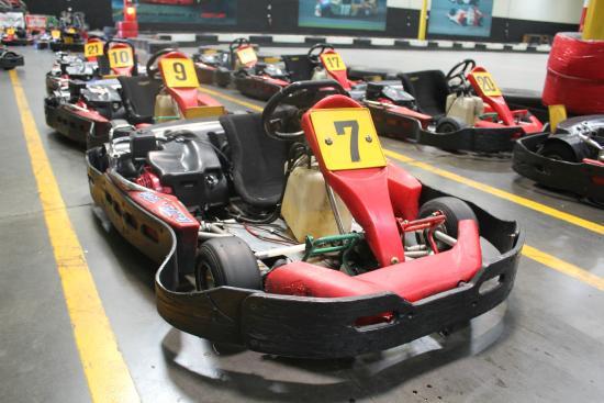 Fast Lap Indoor Kart Racing - Picture of Fast Lap Indoor