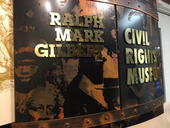 Ralph Mark Gilbert Civil Rights Museum Inc.: Main entrance