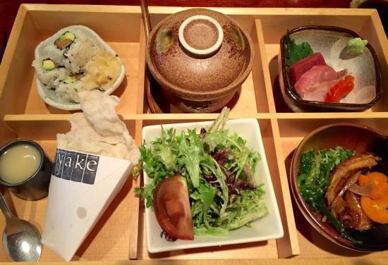 Miyake: Lunch Bento Box Delicious!!!