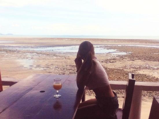 Bay View Hotel: Cuando la marea sube llega justo al comedor