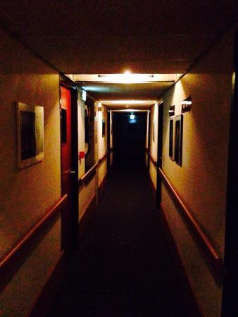 Carlit Hôtel : Zone de circulation dans les étages... ou bien Shining !