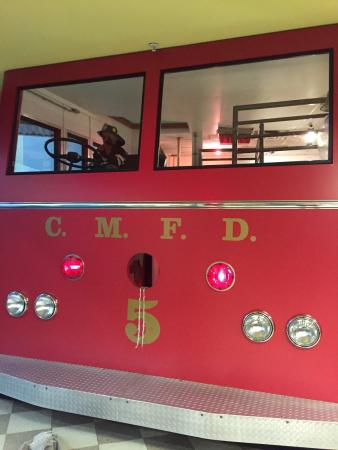 Children's Museum and Theatre of Maine : Fire engine