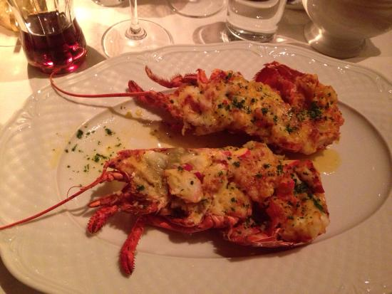 Brasserie Godot : Langoustine au safran